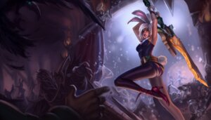 Rating: Questionable Score: 8 Tags: animal_ears ass bunny_ears bunny_girl heels league_of_legends pantyhose sword tagme tail User: Radioactive