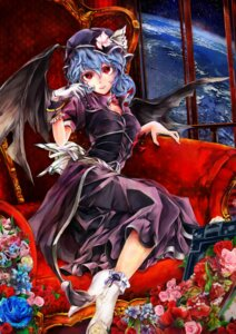 Rating: Safe Score: 44 Tags: dress poyan_noken remilia_scarlet touhou wings User: mash