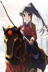 Rating: Safe Score: 41 Tags: hoppege japanese_clothes weapon User: fairyren