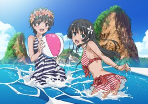 Rating: Safe Score: 32 Tags: bikini dress jpeg_artifacts saten_ruiko swimsuits to_aru_kagaku_no_railgun to_aru_majutsu_no_index uiharu_kazari User: PPV10