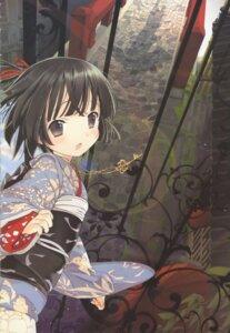 Rating: Safe Score: 9 Tags: ikoku_meiro_no_croisee kimono takeda_hinata yune User: MDGeist