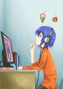 Rating: Safe Score: 5 Tags: headphones tenshiu_kiriko User: charunetra
