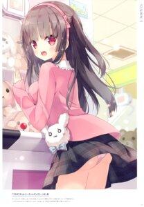Rating: Questionable Score: 32 Tags: hoshi pantsu skirt_lift User: BattlequeenYume