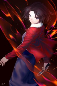 Rating: Safe Score: 21 Tags: fate/grand_order kara_no_kyoukai lanzi ryougi_shiki weapon User: nphuongsun93