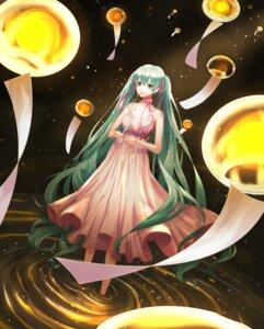 Rating: Safe Score: 16 Tags: ariana_(artist) cleavage dress hatsune_miku vocaloid wet User: charunetra