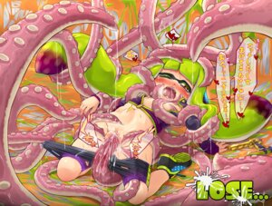 Rating: Explicit Score: 23 Tags: bike_shorts bondage breast_grab censored cum extreme_content gun inkling_(splatoon) kitsunerider loli no_bra nopan open_shirt pussy pussy_juice splatoon tentacles torn_clothes User: Mr_GT
