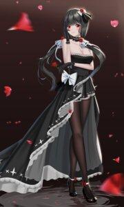 Rating: Safe Score: 53 Tags: azur_lane cleavage dress heels illustrious_(azur_lane) lazy_guang_guang pantyhose User: Mr_GT