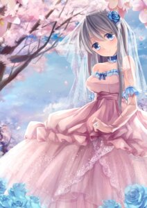 Rating: Safe Score: 60 Tags: clannad dress sakagami_tomoyo tsukimiya_kamiko wedding_dress User: ddns001