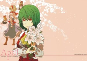 Rating: Safe Score: 4 Tags: alice_margatroid charin kazami_yuuka touhou wallpaper User: Radioactive