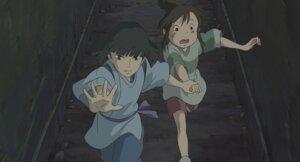 Rating: Safe Score: 2 Tags: nigihayami_kohaku_nushi ogino_chihiro sen_to_chihiro_no_kamikakushi studio_ghibli User: Radioactive