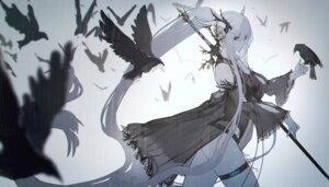 Rating: Safe Score: 32 Tags: arknights garter horns leotard ryuuzaki_itsu see_through shining_(arknights) weapon User: Mr_GT