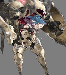 Rating: Questionable Score: 5 Tags: armor cleavage fire_emblem fire_emblem_heroes kozaki_yuusuke mecha_musume monster_girl nintendo reginn sword torn_clothes User: fly24