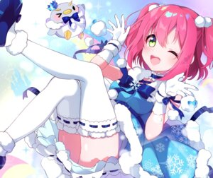 Rating: Safe Score: 28 Tags: goroo_(eneosu) kurosawa_ruby love_live!_sunshine!! pantsu penguin skirt_lift thighhighs User: BattlequeenYume