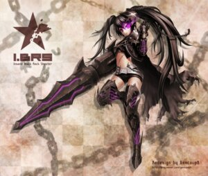 Rating: Safe Score: 23 Tags: black_rock_shooter_(character) gencoupb insane_black_rock_shooter vocaloid User: solechris