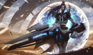 Rating: Safe Score: 5 Tags: bodysuit caitlyn league_of_legends tagme weapon User: Radioactive
