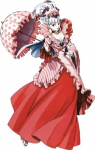 Rating: Safe Score: 4 Tags: cleavage dress fujita_kaori josephine lolita_fashion suikoden suikoden_v User: MrSonic