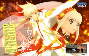 Rating: Safe Score: 12 Tags: bodysuit lailah shibata_yuka sorey tales_of_zestiria User: drop