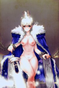 Rating: Explicit Score: 40 Tags: fate/stay_night hiko_(4486aa) naked_cape nipples pubic_hair pussy saber sword User: Mr_GT