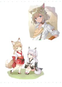 Rating: Questionable Score: 19 Tags: animal_ears chibi final_fantasy final_fantasy_xiv japanese_clothes momoko_(momopoco) sashimi_necoya tagme tail User: kiyoe