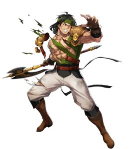 Rating: Questionable Score: 2 Tags: dai-xt fire_emblem fire_emblem:_thracia_776 fire_emblem_heroes heels nintendo osian torn_clothes weapon User: fly24