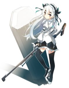Rating: Safe Score: 42 Tags: chaika_trabant dress hitsugi_no_chaika koota stockings thighhighs User: JCorange