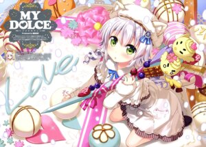 Rating: Safe Score: 51 Tags: animal_ears dress fujima_takuya User: drop