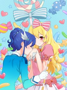 Rating: Safe Score: 5 Tags: aikatsu! dress hoshimiya_ichigo kiriya_aoi yoban User: Radioactive