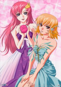 Rating: Safe Score: 18 Tags: cagalli_yula_athha cleavage dress gundam gundam_seed gundam_seed_destiny haro lacus_clyne morishita_hiromitsu User: boon