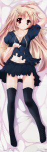 Rating: Questionable Score: 79 Tags: cameltoe cleavage dakimakura fixed loli pantsu shinya_(silent) silent thighhighs User: DDD