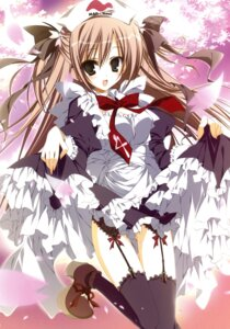 Rating: Safe Score: 34 Tags: garter_belt inugami_kira maid stockings thighhighs User: crim