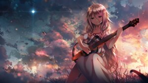 Rating: Safe Score: 100 Tags: c.c.r_(ccrgaoooo) dress guitar ia_(vocaloid) vocaloid User: Humanpinka