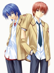 Rating: Safe Score: 4 Tags: angel_beats! hinata_(angel_beats!) key male na-ga otonashi User: marechal