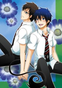 Rating: Safe Score: 3 Tags: ao_no_exorcist male megane okumura_rin okumura_yukio seifuku tail tsunoda_wei User: charunetra
