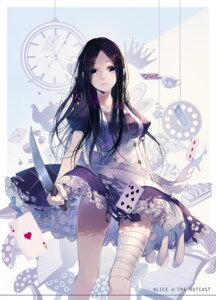 Rating: Safe Score: 47 Tags: alice alice_in_wonderland bandages torn_clothes wait weapon User: Mr_GT