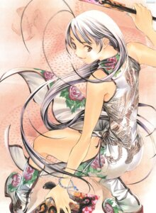Rating: Safe Score: 19 Tags: chinadress natsume_maya oh!_great tenjou_tenge User: Radioactive