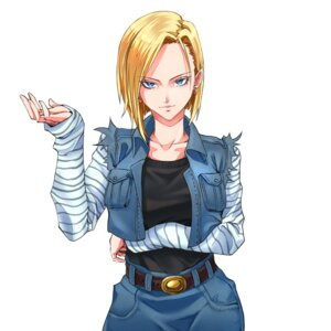 Rating: Safe Score: 14 Tags: android_18 breast_hold dragon_ball dragon_ball_z tagme User: saemonnokami
