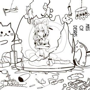Rating: Safe Score: 2 Tags: itomugi-kun kaku_seiga miyako_yoshika monochrome touhou User: itsu-chan