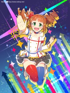 Rating: Safe Score: 22 Tags: otsumami takatsuki_yayoi the_idolm@ster thighhighs User: fairyren