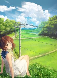 Rating: Safe Score: 36 Tags: dress hibike!_euphonium oumae_kumiko ryokucha_manma summer_dress User: Dreista