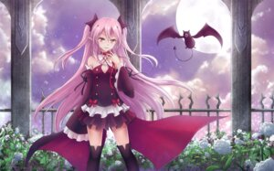 Rating: Safe Score: 57 Tags: asakurashinji krul_tepes owari_no_seraph pointy_ears thighhighs User: Mr_GT