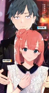 Rating: Safe Score: 15 Tags: hikigaya_hachiman ponkan_8 possible_duplicate yahari_ore_no_seishun_lovecome_wa_machigatteiru. yuigahama_yui User: kiyoe