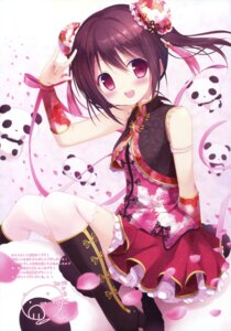 Rating: Safe Score: 78 Tags: asian_clothes chinadress heels love_live! miyasaka_nako thighhighs yazawa_nico User: Twinsenzw