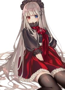 Rating: Safe Score: 2 Tags: heterochromia lolita_fashion thighhighs tia_(tia_1207) User: BattlequeenYume