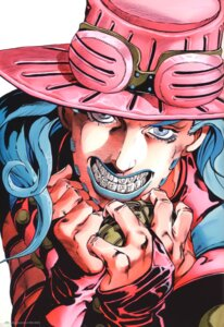 Rating: Safe Score: 5 Tags: araki_hirohiko gyro_zeppeli jojo's_bizarre_adventure male User: NotRadioactiveHonest