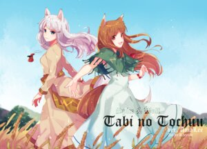 Rating: Safe Score: 15 Tags: animal_ears dress holo raeyxia skirt_lift spice_and_wolf tagme tail User: dick_dickinson