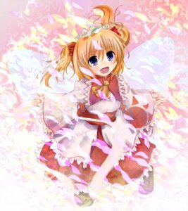 Rating: Safe Score: 17 Tags: maisaki_miyabi sunny_milk touhou wings User: hobbito