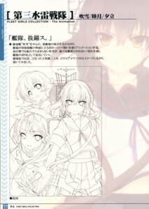 Rating: Safe Score: 4 Tags: kantai_collection line_art seifuku tagme User: kiyoe