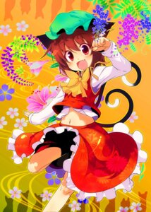 Rating: Safe Score: 10 Tags: animal_ears chen nekomimi sw tail touhou User: Radioactive
