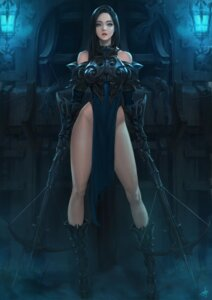 Rating: Safe Score: 75 Tags: ake_(cherrylich) armor dress nopan weapon User: Mr_GT