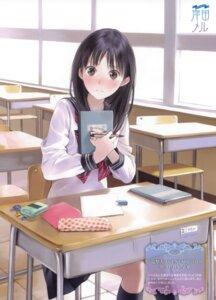 Rating: Safe Score: 54 Tags: kishida_mel seifuku User: fireattack